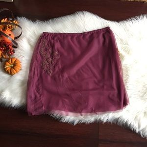 Free People Tulle Skirt Sz M